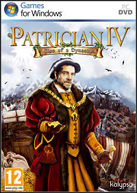 Game Box for Patrician IV: Rise of a Dynasty (PC)