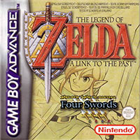 Game Box for The Legend of Zelda: A Link to the Past (GBA)