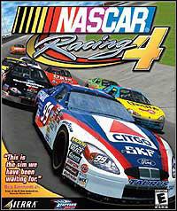 Okładka NASCAR Racing 4 (PC)