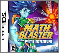 Okładka Math Blaster in the Prime Adventure (NDS)