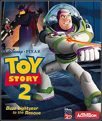 Game Box for Toy Story 2: Action Game (PC)