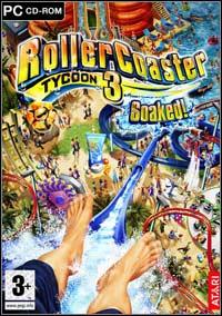 Okładka RollerCoaster Tycoon 3: Soaked! (PC)