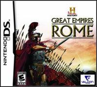 Okładka History Great Empires: Rome (NDS)