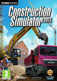 Game Box for Construction Simulator 2015 (PC)
