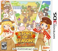 Game Box for Story of Seasons: Trio of Towns (3DS)