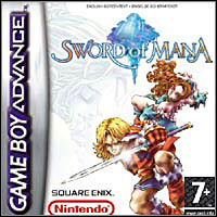 Game Box for Sword of Mana (GBA)