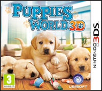 Okładka Puppies World 3D (3DS)