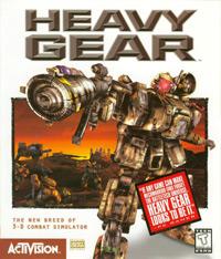 Okładka Heavy Gear (1997) (PC)