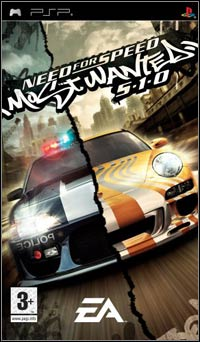 Okładka Need for Speed: Most Wanted 5-1-0 (PSP)