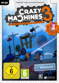 Game Box for Crazy Machines 3 (PC)