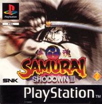 Game Box for Samurai Shodown III (PS1)