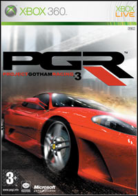 Okładka Project Gotham Racing 3 (X360)