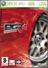 Okładka Project Gotham Racing 4 (X360)