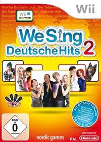Okładka We Sing Deutsche Hits 2 (Wii)