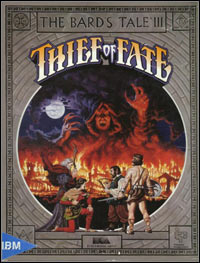 Game Box for The Bard's Tale III: Thief of Fate (PC)