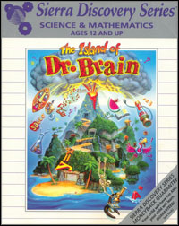 Game Box for The Island of Dr. Brain (PC)