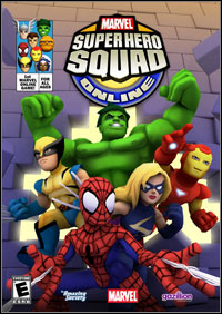 Okładka Super Hero Squad Online (PC)