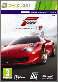 Game Box for Forza Motorsport 4 (X360)