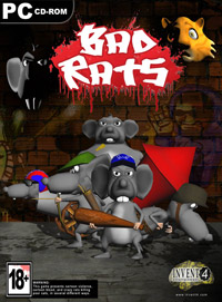 Okładka Bad Rats: the Rats Revenge (PC)