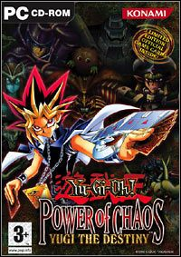 Game Box for Yu-Gi-Oh! Power of Chaos: Yugi The Destiny (PC)