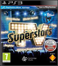 Okładka TV Superstars (PS3)