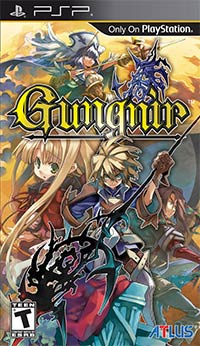 Okładka Gungnir (PSP)