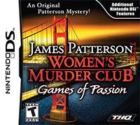 Okładka Women's Murder Club: Games of Passion (NDS)