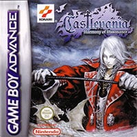Game Box for Castlevania: Harmony of Dissonance (GBA)