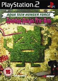 Okładka Aqua Teen Hunger Force Zombie Ninja Pro-Am (PS2)