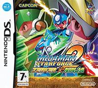 Okładka Mega Man Star Force 2: Zerker x Saurian / Ninja (NDS)