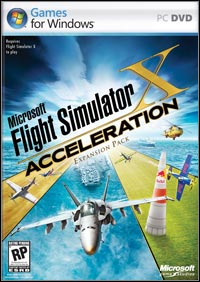 Okładka Microsoft Flight Simulator X: Acceleration (PC)