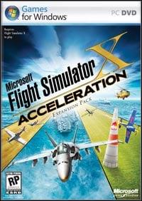 Okładka Microsoft Flight Simulator X: Acceleration (PC)