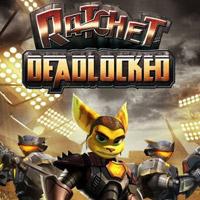 Ratchet: Deadlocked HD (PS3 cover