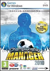 Okładka Championship Manager 2010 (PC)