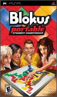 Okładka Blokus Portable: Steambot Championship (PSP)
