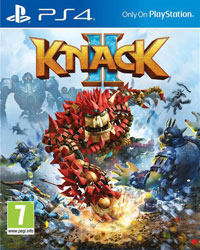 Game Box for Knack 2 (PS4)