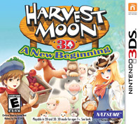 Game Box for Harvest Moon: A New Beginning (3DS)