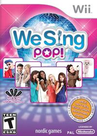Okładka We Sing Pop! (2012) (Wii)