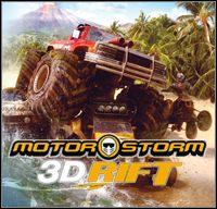 Okładka MotorStorm 3D Rift (PS3)