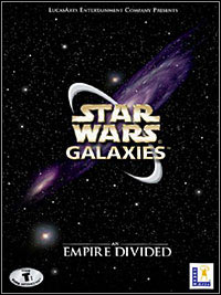 Game Box for Star Wars Galaxies: An Empire Divided (PC)