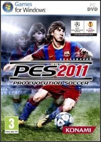 Game Pro Evolution Soccer 2011 (PC) cover