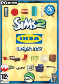 Okładka The Sims 2: IKEA Stuff (PC)