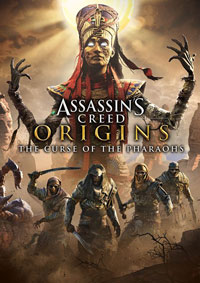 Game Assassin's Creed Origins: The Curse of the Pharaohs (PC) cover