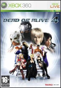 Okładka Dead or Alive 4 (X360)