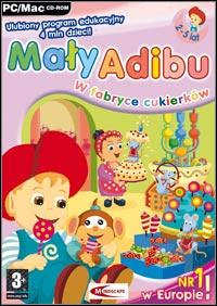 Okładka Maly Adibu w fabryce cukierkow (PC)