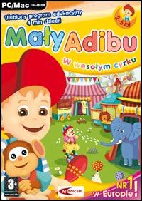 Okładka Maly Adibu w wesolym cyrku (PC)