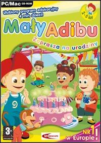 Okładka Maly Adibu zaprasza na urodziny (PC)
