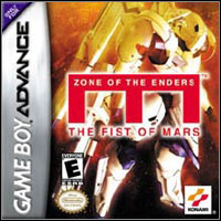 Okładka Zone of the Enders: The Fist of Mars (GBA)