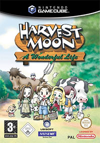 Game Box for Harvest Moon: A Wonderful Life (GCN)