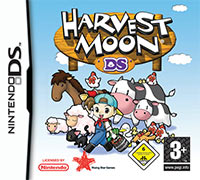 Game Box for Harvest Moon DS (NDS)